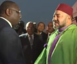 Koning Mohammed VI terug in Marokko [video]